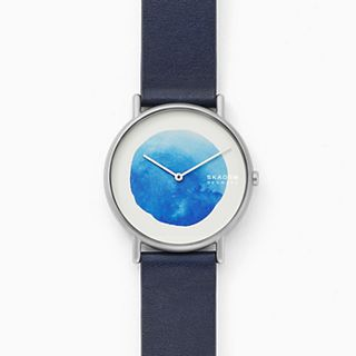 Signatur Blue Leather Watch