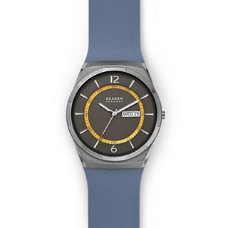 Melbye Blue Silicone Watch