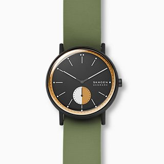 Signatur Green Silicone Field Watch