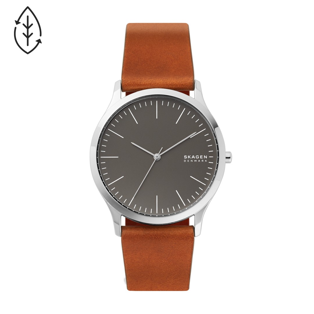 Jorn Brown Leather Watch  - SKW6552