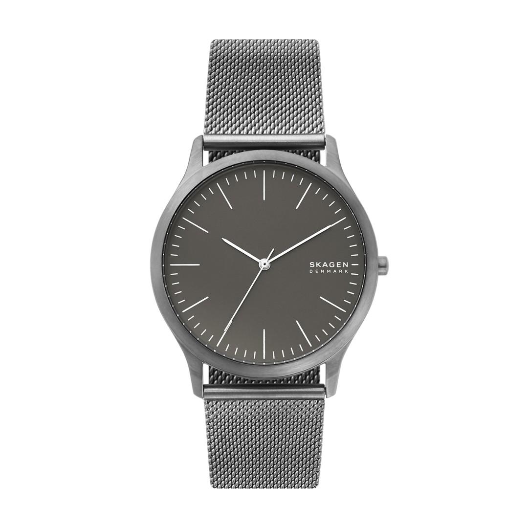 Jorn Gunmetal Steel-Mesh Watch  - SKW6553