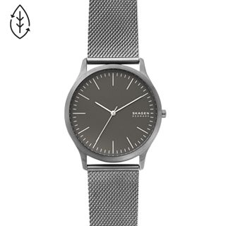 Jorn Gunmetal Steel-Mesh Watch