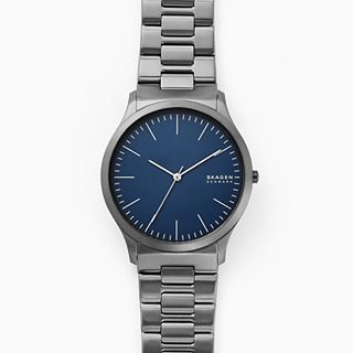 Jorn Three-Hand Gunmetal Stainless Steel Watch