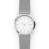 Deals on Skagen SKW6565 Jorn Silver-Tone Steel-Mesh Watch