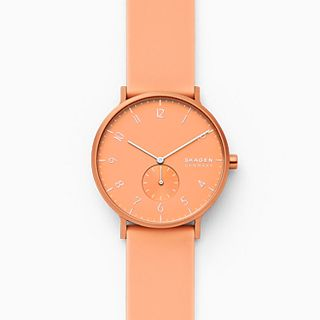 Aaren Kulor Coral Silicone 41mm Watch