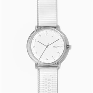Aaren Transparent Three-Hand Clear 41mm Watch