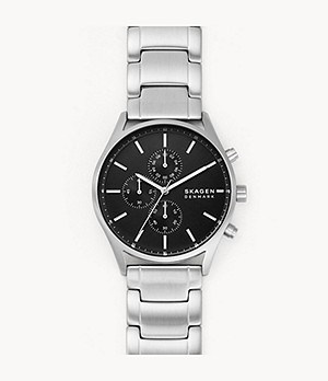 Holst Chronograph Silver-Tone Stainless Steel Watch