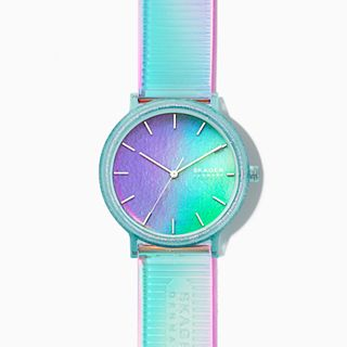 Aaren Iridescent Three-Hand 41mm Watch