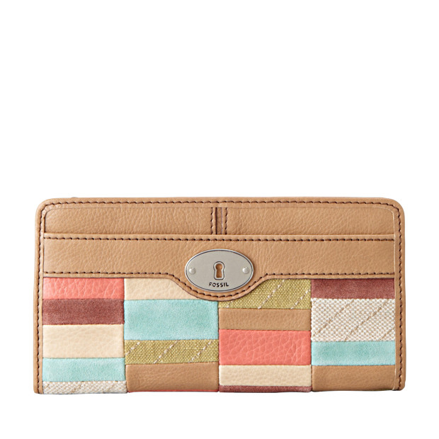 Maddox Zip Clutch