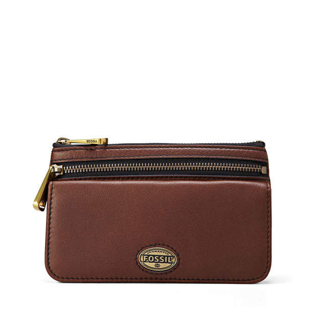 Damen Geldbörse - Explorer Flap Clutch