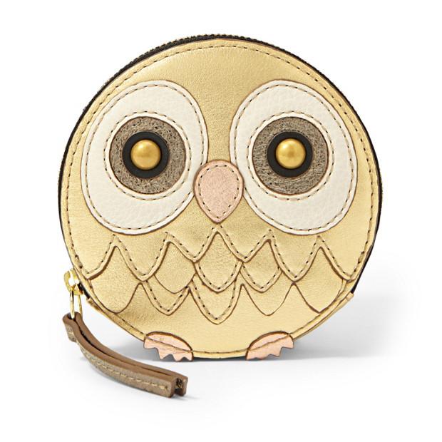 Owl Zip Coin
