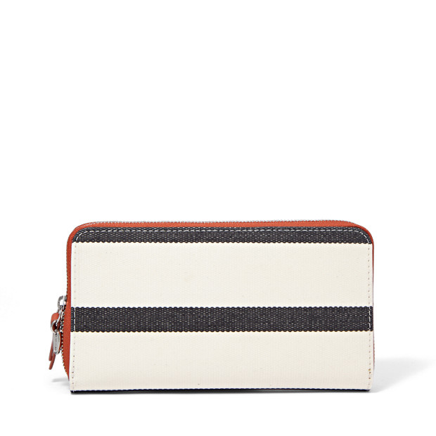 Key-Per Zip Clutch