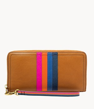 Damen Geldbörse Logan - RFID Zip Around Clutch
