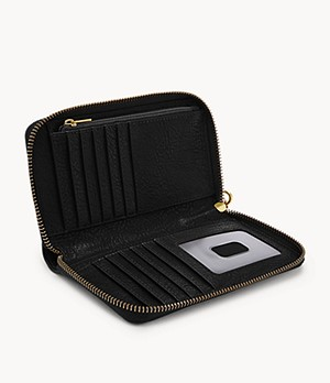 Clutch RFID Logan media con cerniera