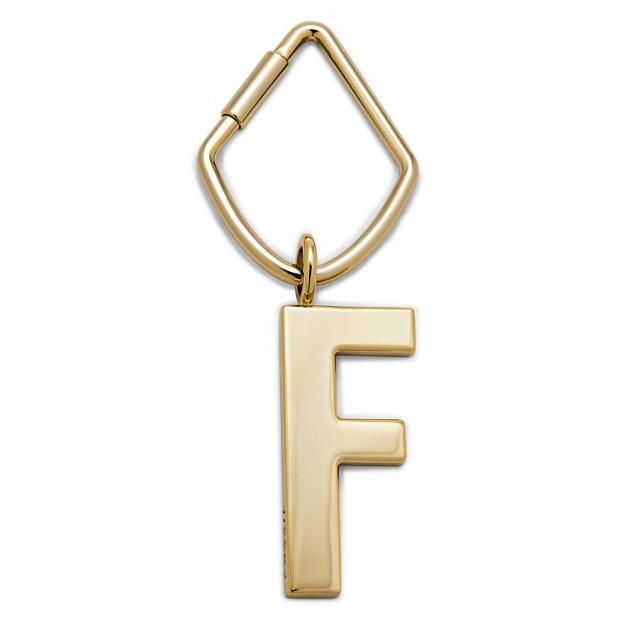 Letter F Bag Charm