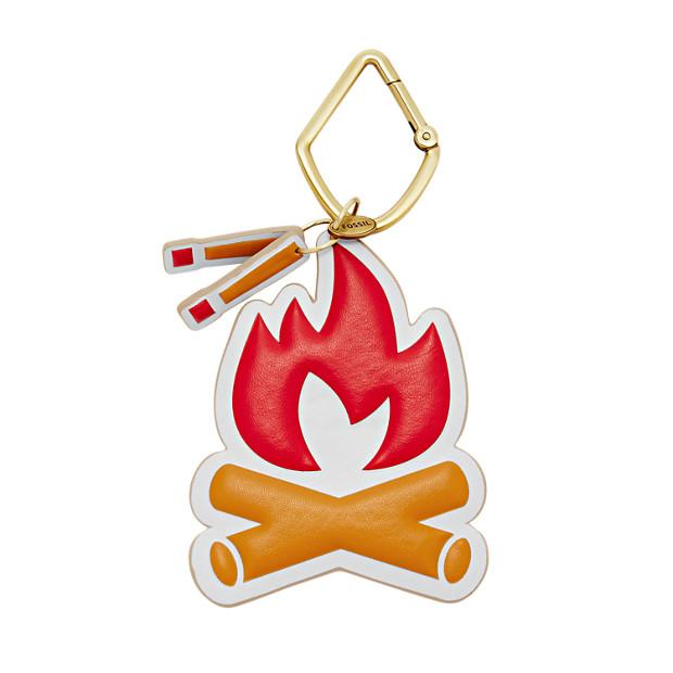 Damen Schlüsselanhänger - Campfire Keyfob