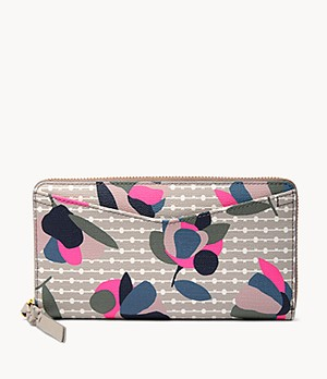 Damen Geldbörse Caroline - RFID Zip Around Clutch