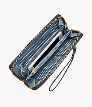 Damen Geldbörse Emma - RFID Large Zip Clutch