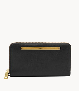 Liza Zip Around Clutch
