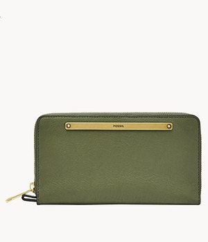 Liza Zip-Around Clutch
