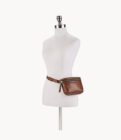 Belt Bag-Buddy-Brown-brass colours-Belly Bag-Hip Bag