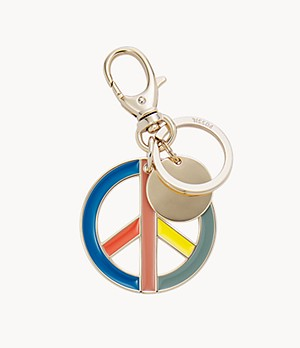 Keychain Peace Sign