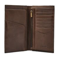 Fossil Men's Leather RFID Wallets (various)