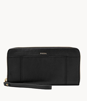 Jori RFID Zip Clutch
