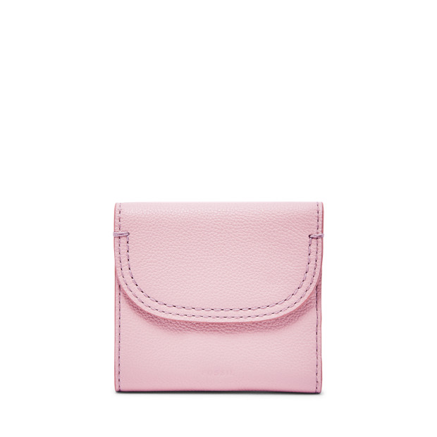 Fossil Unisex Porte-Monnaie Rabat Mm Cleo Rose - One size