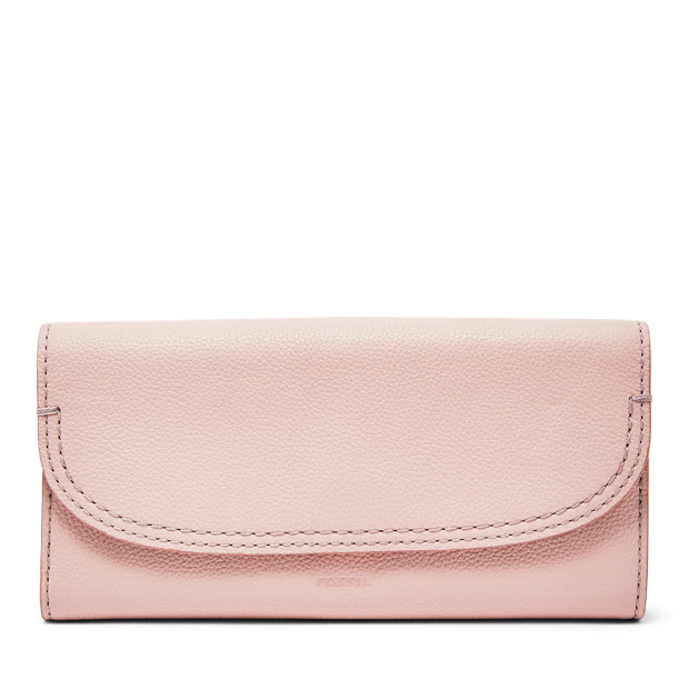Fossil Unisex Portefeuille À Rabat Cleo Rose - One size