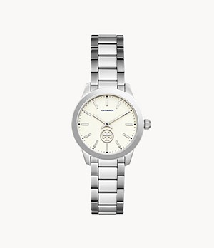 Tory Burch Collins Three-Hand Stainless Steel Watch