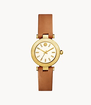 The Classic T Luggage Leather Three-Hand Watch