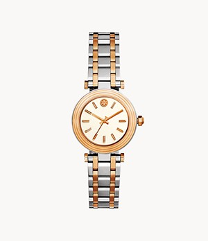 The Classic T Two-Tone Three-Hand Watch