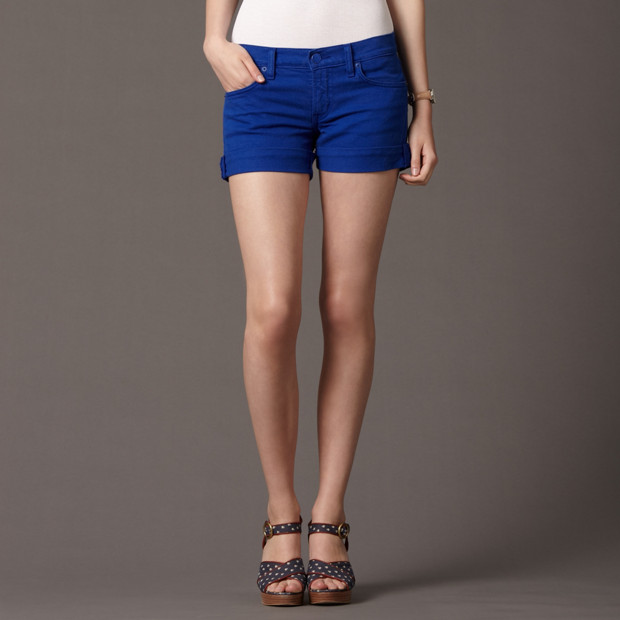 Denim Short Short
