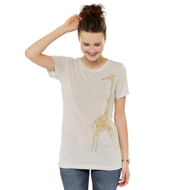 T-shirt motif Girafe