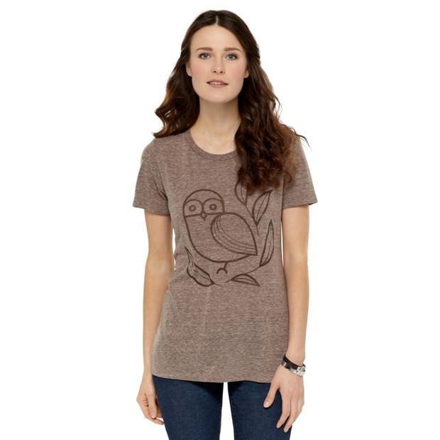 Owlined Tee