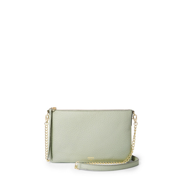 Sydney Top Zip Chain Crossbody