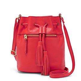 Jules Mini Drawstring Satchel with Tassle