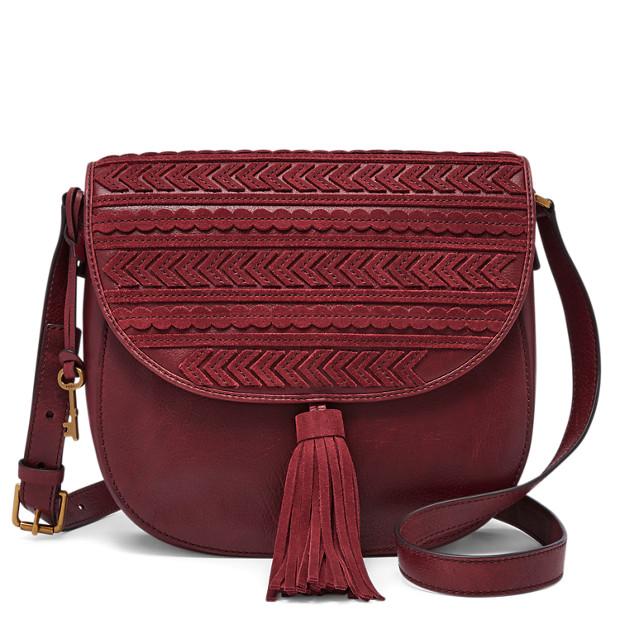 FOSSIL sac à main bordeaux 139€