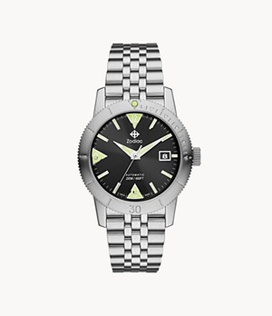 Super Sea Wolf 53 Skin Automatic Stainless Steel Watch