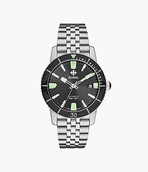 Super Sea Wolf 53 Compression Automatic Stainless Steel Watch