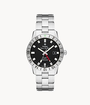 Super Sea Wolf GMT Automatic Stainless Steel Watch