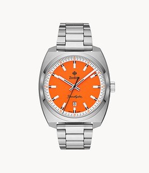 Watch Station Exclusive - Grandhydra Quartz Stainless Steel Watch