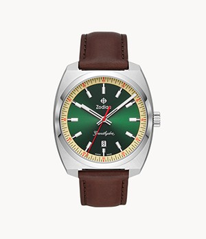 Watch Station Exclusive - Grandhydra Quartz Brown Leather Watch