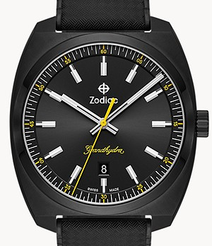 Watch Station Exclusive - Grandhydra Quartz Black Rubber Watch
